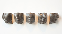 SET OF FIVE FACE