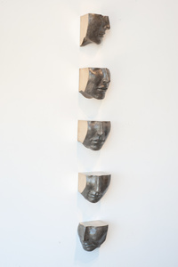 SET OF FIVE FACES