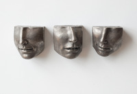 Set of SMALL FACE FRAGMENTS: VII, VIII, and IX